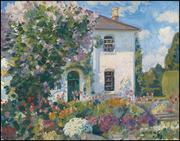 Wilfrid de glehn 39 s the artists 39 home at stratford tony wiltshire uk - An artists home ...