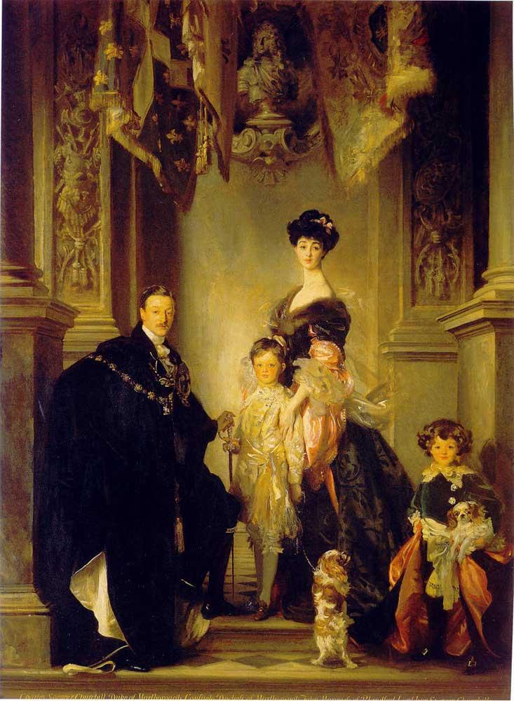 Vanderbilt Family Duke of Marlborough Family