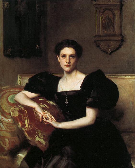 看查布克夫人,找经典油画看 - 于是 - 于是