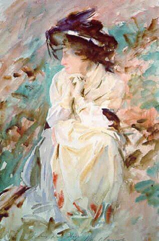 My American Express >> John Singer Sargent's Portrait of Miss Eliza Wedgewood
