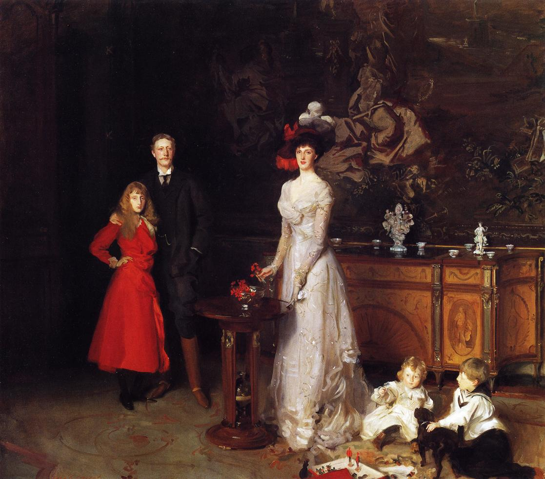 D Illusion Exhibition : John singer sargent s sitwell family